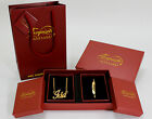 Name Necklace and Bracelet Gift Set - Ida - Gold Plated Christmas Gifts