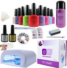 CCO Deluxe UV Nail Gel Polish Starter Kit Set with 36w Lamp Light