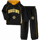 Boston Bruins BOYS SIZE 7 Reebok Hooded Sweatshirt and Pants Set $49.95 USD on eBay