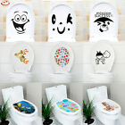 DIY Toilet Seat Wall Sticker Vinyl Art Wallpaper Removable Bathroom Decals Decor