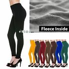 Winter Warm Thermal Thick Fleece Lined Full Length Legging Stretch Slim Fit Pant