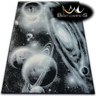 MODERN CARPETS 'FLASH' COSMOS ASTRONAUT PLANETS MOON CHEAP AREA Rugs Carpet