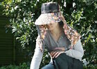 Obachan Mosquito Net Gardening Hat - Face protection against insects, from Japan