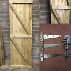 Wooden Garden Side Gate - Treated, Safe, Bespoke, Quality, Outdoor, Heavy Duty