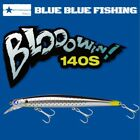 BLUE BLUE FISHING LONG CASTING MINNOW LURE BLOOWIN 140S