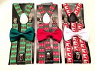 Santa Says Christmas Suspender and Bowtie For A Christmas Gift