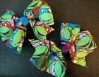 Teenage Mutant Ninja Turtles grosgrain boutique hair bow unique 3 inch TMNT