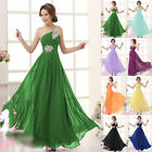 Chiffon Bridesmaid Formal Women Gown Ball Party New Chic Evening Long Prom Dress