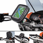 Motorcycle M6 M8 M10 Clamp Bolt Bike Mount with Sat Nav GPS Water Resistant Case