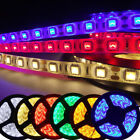 5M 3528 RGB 8mm Width SMD 270/300LED Flexible Tape Rope Strip 12V IP20 IP65 IP67