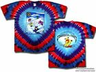 "Grateful Dead ""Snow Bears"" Double Sided Tie-Dye T-Shirt - FREE SHIPPING"