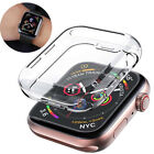 Soft TPU Protective Case Cover Sport Strap Band For Apple Watch 3/1/2 38mm 42mm