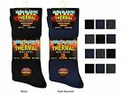 12 Mens THERMAL Cotton Rich NON ELASTIC Loose Top Socks UK 6-11