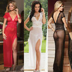 Women's Hot Lingerie Lace Dress Babydoll Sleepwear Underwear G-String Nightwear2
