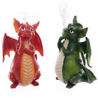 Cute Dragon Incense Cone Holders Red or Green !FREE Incense!