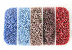 7 OZ, BOX OF #11 SEED BEADS- Assorted Color Beads- Bead Container~ Jewelry Craft
