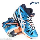 Scarpe pallavolo ASICS GEL SENSEI 5 MT men alte b401y 4101 volley gel-sensei blu