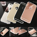 Luxury Ultra Thin Mirror Soft Silicone Gel Case Cover For iPhone 5, 6, 7, Plus