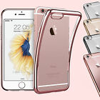 Crystal Clear Soft Transparent TPU Gel Silicone Case Cover For iPhone 5 6 7 Plus