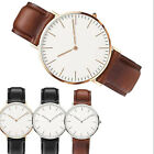 Fashion Women Leather Casual Watch Dress Quartz Analog New Classic Wrist Watch