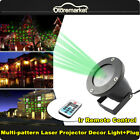 Laser Shower Star Projector Red Green Party Light Christmas Outdoor Garden Lamp
