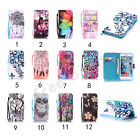 New Fashion Leather Wallet Phone Cases Strap Card Holder Covers For iPhone 5 6 7