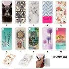 Fashion Cute Soft Rubber TPU Silicone Gel Case Phone Cover For Sony Xperia XA