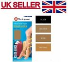 Ladies Women  Knee High Travel Flight Socks Medium Weight Support U.K 4-7.