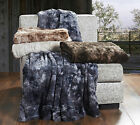 Brielle Faux Fur Throw or Blanket NEW - Oversized and Heavy weight