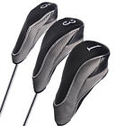 Andux Velcro Golf Clubs Wood Driver Head Covers Golf Club Headcover Sport
