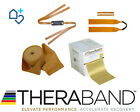 Theraband Gold 1m x 12.5cm Max Heavy Catapult or Fitness Thera Band Flat Latex