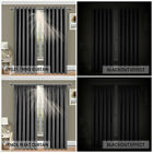 THERMAL BLACKOUT CURTAINS Eyelet/RingTop OR Pencil Pleat with FREE Tie Backs