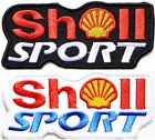 Shell Gas Oil Cab Pump Logo Racing Patch Iron on Jacket T-shirt Hat Sign Badge