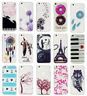 Slim TPU Rubber Case Cover Skin Funky Patterns For iPhone 5 5s 6 6s 6 Plus New