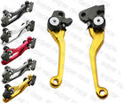 New CNC Dirt Bike Pivot Brake Clutch Levers For Suzuki RMZ250 2004 Off Road Bike