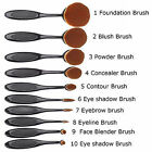 10Pcs Toothbrush Oval Make Up Brushes Set Foundation Contour Face  Makeup Brush <br/> Higher Quality!Promotional activity!Mother&#039;s Day