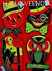 2 Sets  4 HALLOWEEN Party Decoraton Cut Outs  NEW W TAGS DIE CUT # 01008 SALE~!