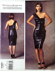 VOGUE PATTERN DRESS CLOSE FIT LINED DONNA KARAN COLLECTION 6-14 or 14-22 # V1427