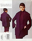 VOGUE PATTERN JACKET VERY LOOSE FIT DONNA KARAN EASY SZ L-XL-XXL # V1263