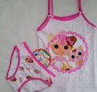 LALALOOPSY licensed Girl 2pc underwear singlet cami + briefs set NEW sizes 3-8