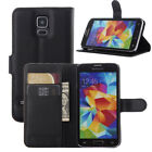 Samsung Galaxy S5 & Neo Pouch Flip Cover Wallet Leather Phone Case , Card holder