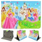 "Kids Cartoon Princess PU leather stand Cover Case For 8""-8.5"" inch Tablet PC MID"