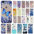 Painted Pattern Silicone TPU Soft Back Case Cover For iPhone 7/7 Plus/6 Plus/5/6