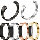 Fashion Cuff Stainless Steel Metal Watch Band Bracelet Bangle For Fitbit Alta