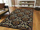 Kyпить Large Area Rugs 8x11 Contemporary Rugs 8x10 Black 5x7 Rugs 5x8 Blue Rug 2x3 Mat на еВаy.соm
