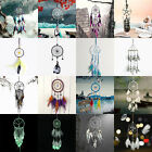 Indian Handmade Dream Catcher Feather Wall Car Hanging Decor Ornament Gift