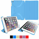 roocase for Apple iPad Mini 3 2 1 PU Leather Folio Case Stand Cover