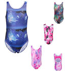 Little Girls Sparkly Gymnastics Leotards Skate Ballet Tank Suit Dancewear 3-14Y