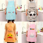 Kawaii Cute Cartoon Animal Waterproof Apron Kitchen Restaurant Cooking Tool