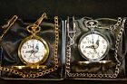 RACING HOMING PIGEON POCKET WATCH SILVER OR GOLD WITH OR WITHOUT ENGRAVING